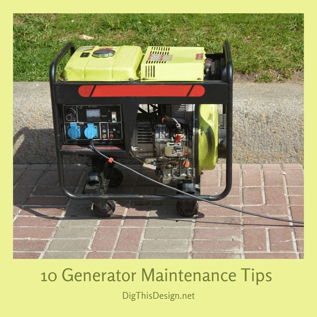 10 Generator Maintenance Tips