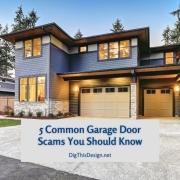 5 Common Garage Door Scams You Should Know