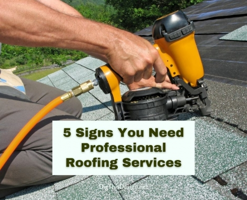 5 Signs You Need Professional Roofing Services