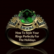How To Style Your Rings Perfectly For The Holidays