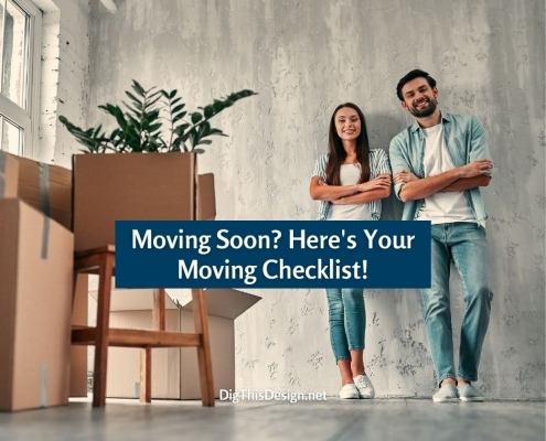 Moving Soon? Here's Your Moving Checklist!