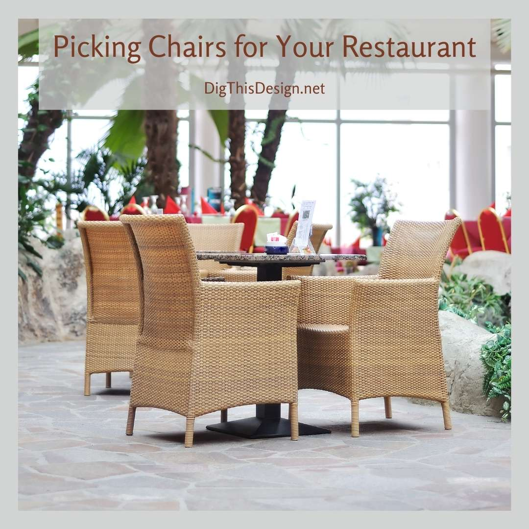 Picking Chairs for Your Restaurant