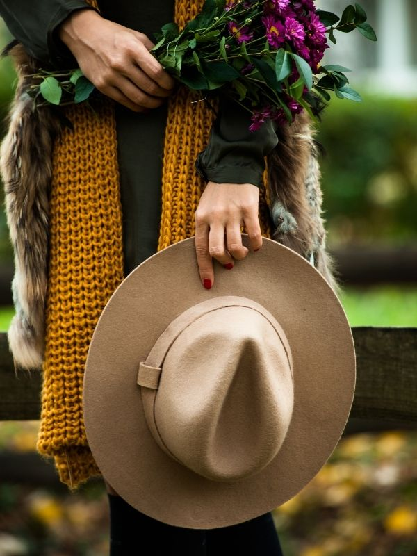 Stepping Out in Colorful and Warm Fall Fashion - Scarves and Hats