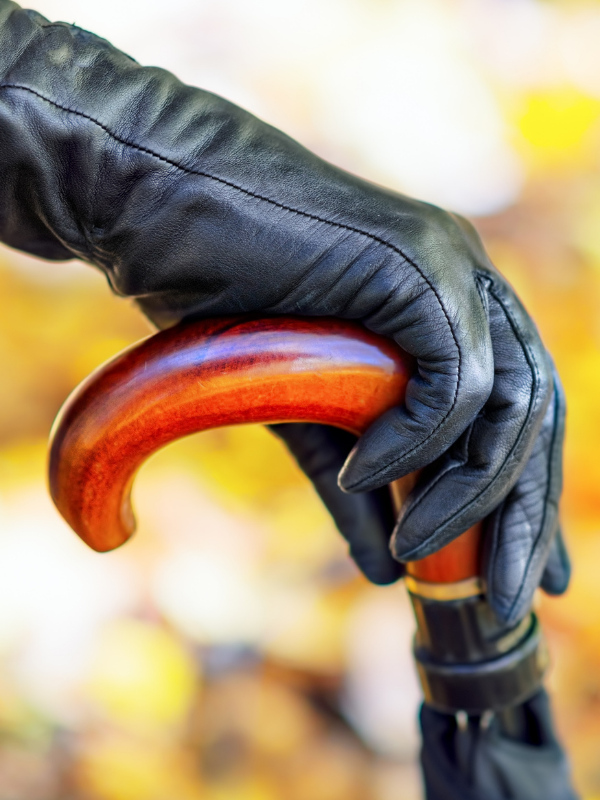 Stepping Out in Colorful and Warm Fall Fashion - Leather Gloves