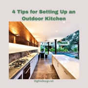 4 Tips for Setting Up an Outdoor Kitchen