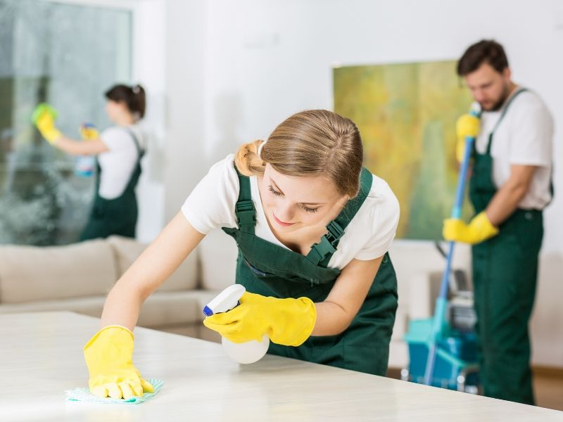 Hire Professional Cleaning Services for a Spotless Living Space