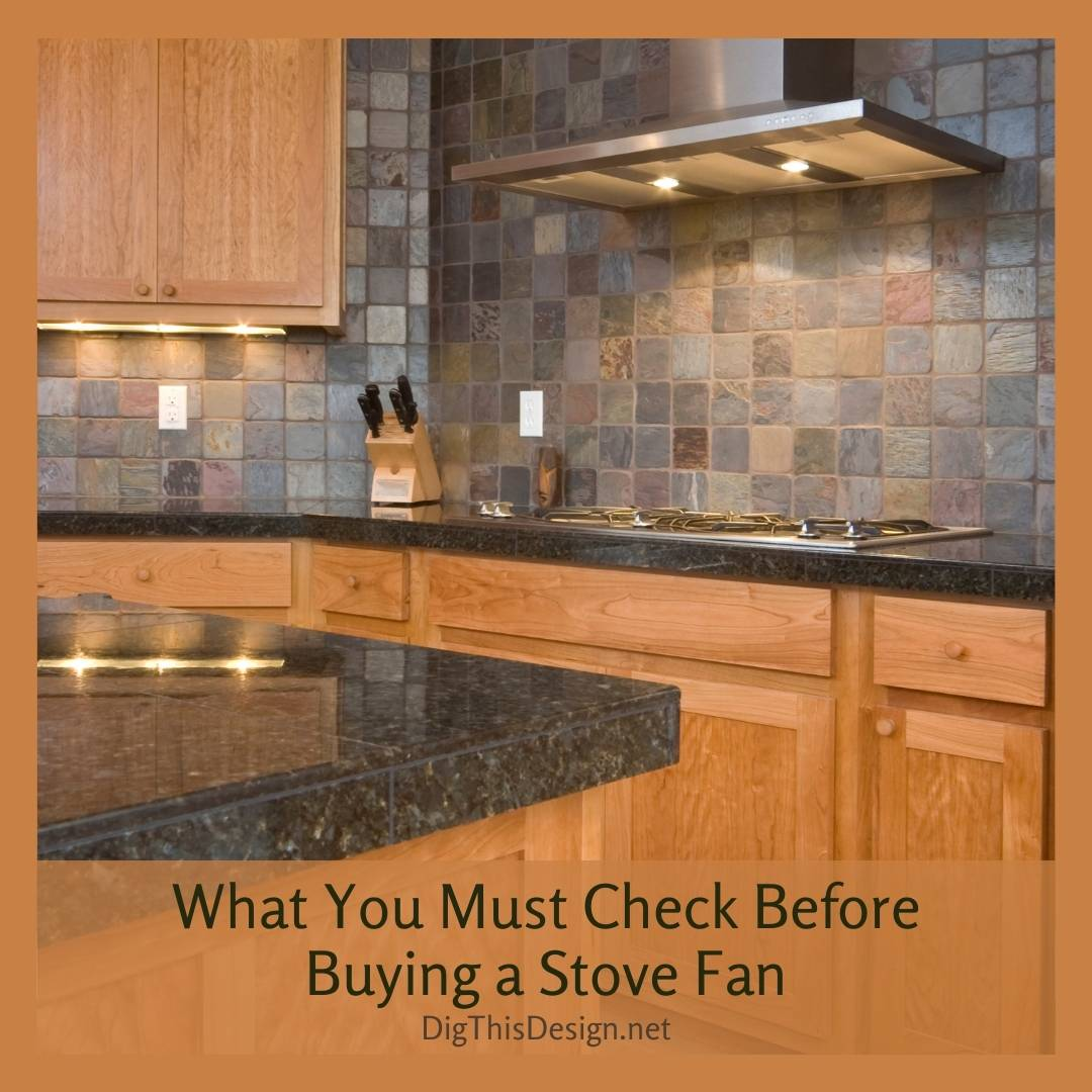 What You Must Check Before Buying a Stove Fan
