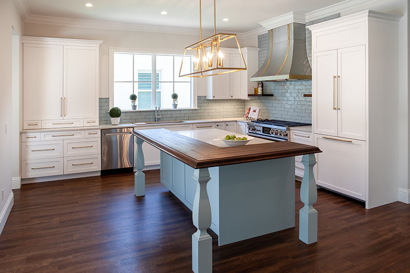 Top Kitchen Design Trends in 2021 Blue and White Design