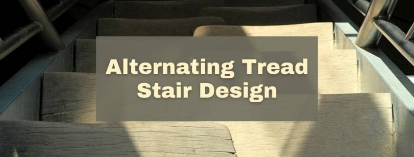 Alternating Tread Stair Design