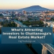 Chattanooga's Real Estate Market - shows panoramic view of Chattanooga, Tennessee
