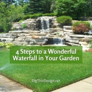 How to Add a Waterfall in Your Garden