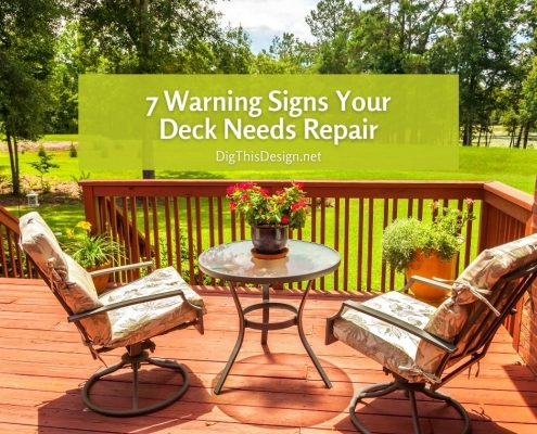 7 Warning Signs Your Deck Needs Repair