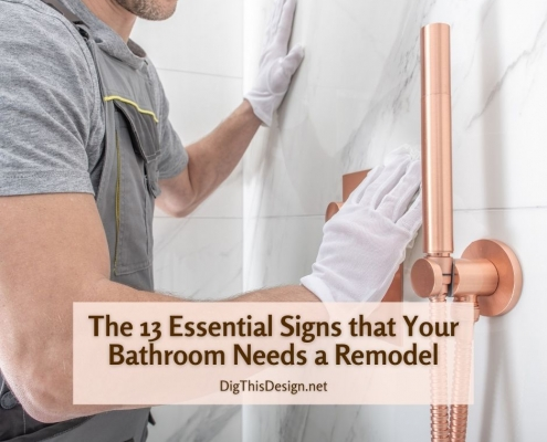 The 13 Essential Signs that Your Bathroom Needs a Remodel