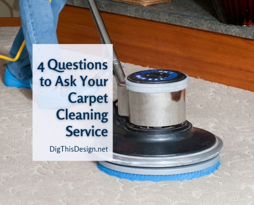 3 Questions to Ask Your Professional Carpet Cleaning Service