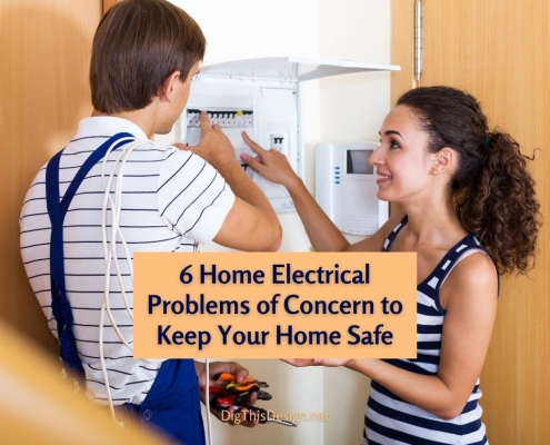 6 Home Electrical Problems of Concern to Keep Your Home Safe