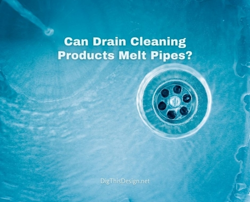 Can Drain Cleaning Products Melt Pipes